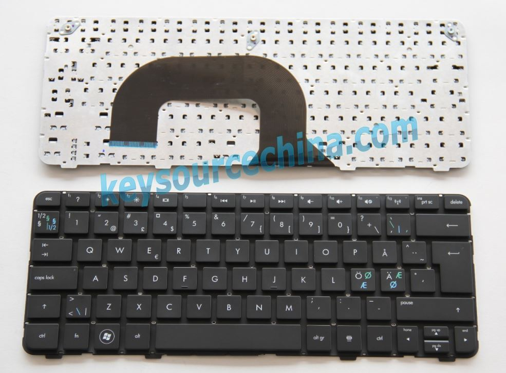 Original HP Pavilion DM1-4000 Series DM1Z-4000 DM1-4100 DM1-4200 DM1-4400 Nordic keyboard