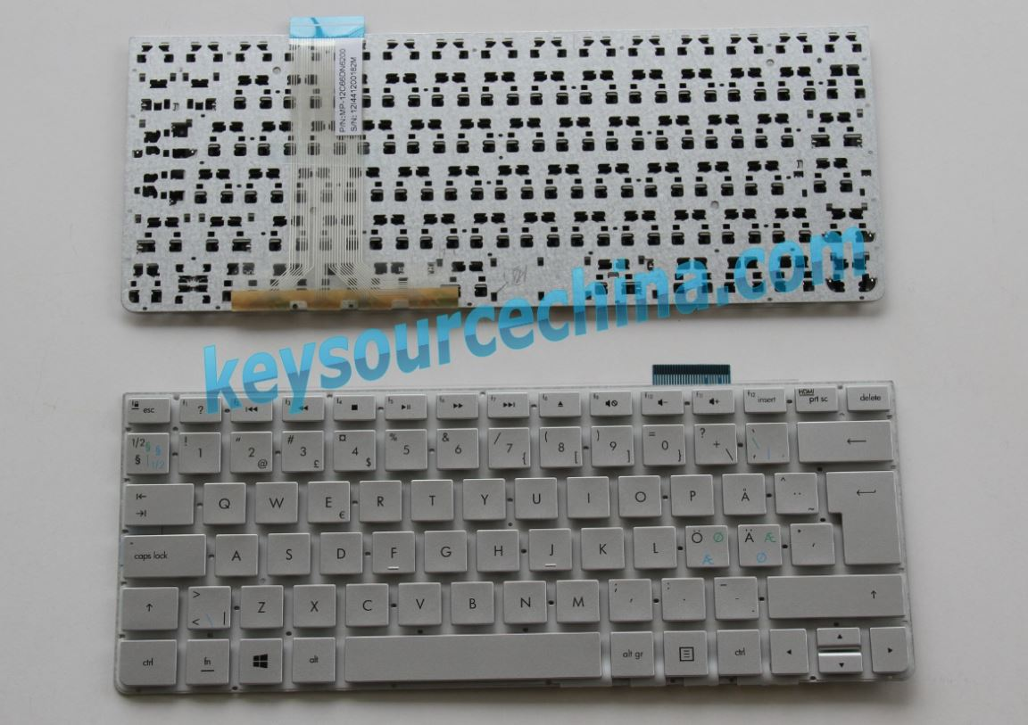 MP-12C66DN6200 Original HP Spectre One 23-e000 Series 23-e010 23-e200 Nordic keyboard