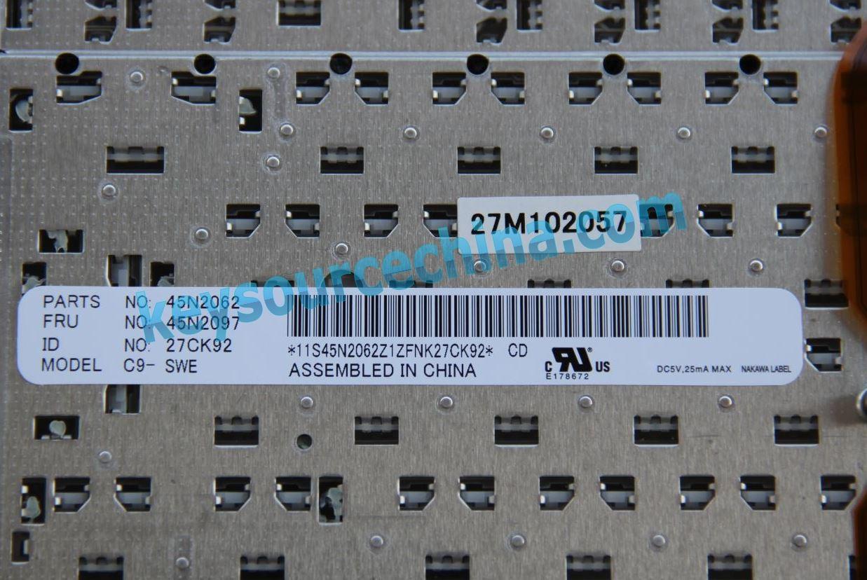 Fru 45n2097 45n2062 Thinkpad T400s T410 T510 X220 W510 T420 Swedish Keyboard Lenovo T520 Finnish Nordic Laptop Keyboards And Hungarian