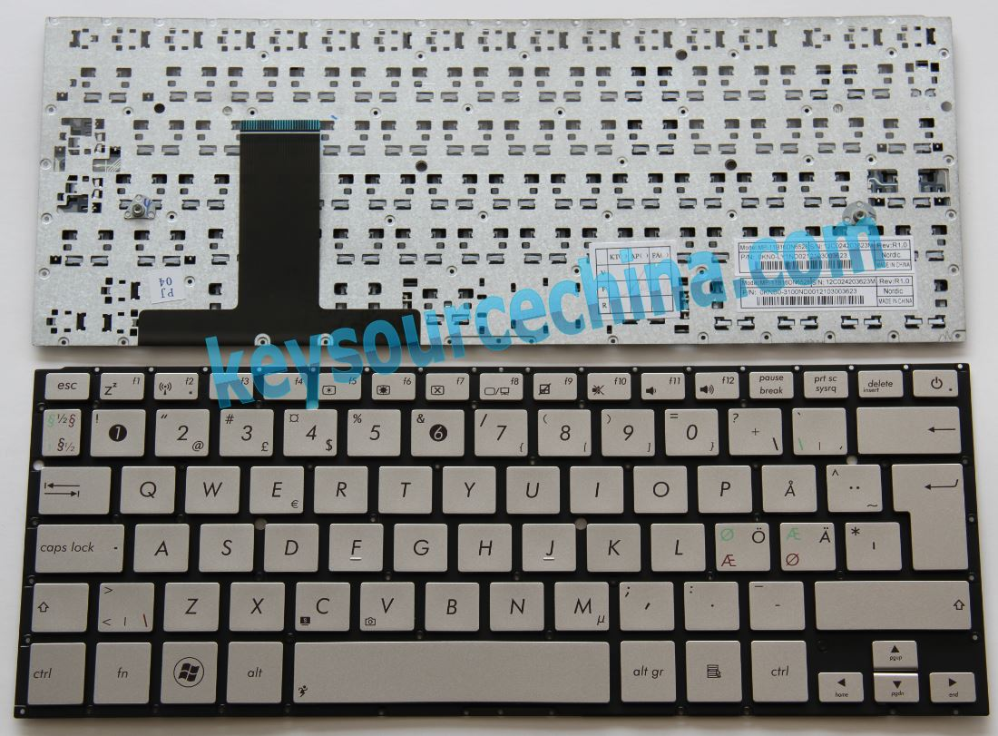 0KNB0-3100ND00 Asus UX31 UX31E Nordic keyboard MP-11B16DN6528