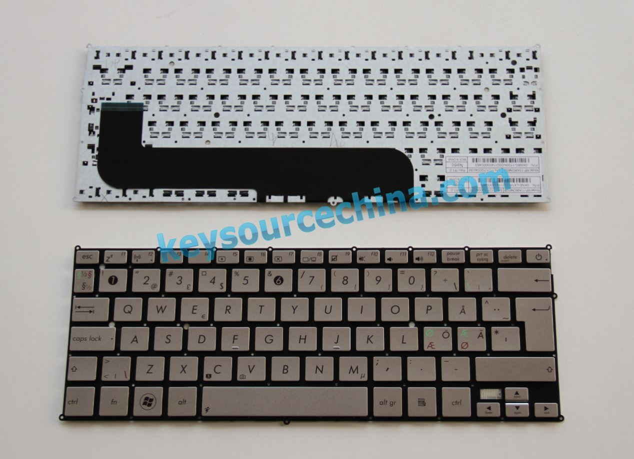 0KNB0-1100ND00 Asus UX21 Nordic keyboard MP-11A96DN6528