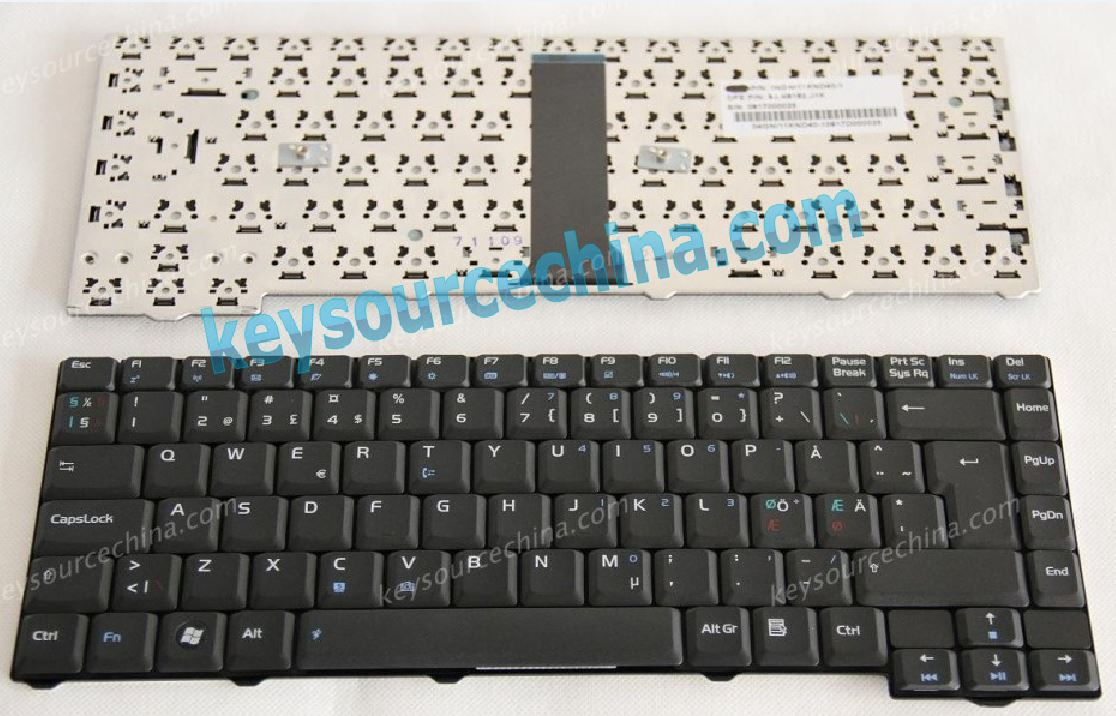 04Gni11knd40-1 Asus F2 Nordic laptop keyboard black