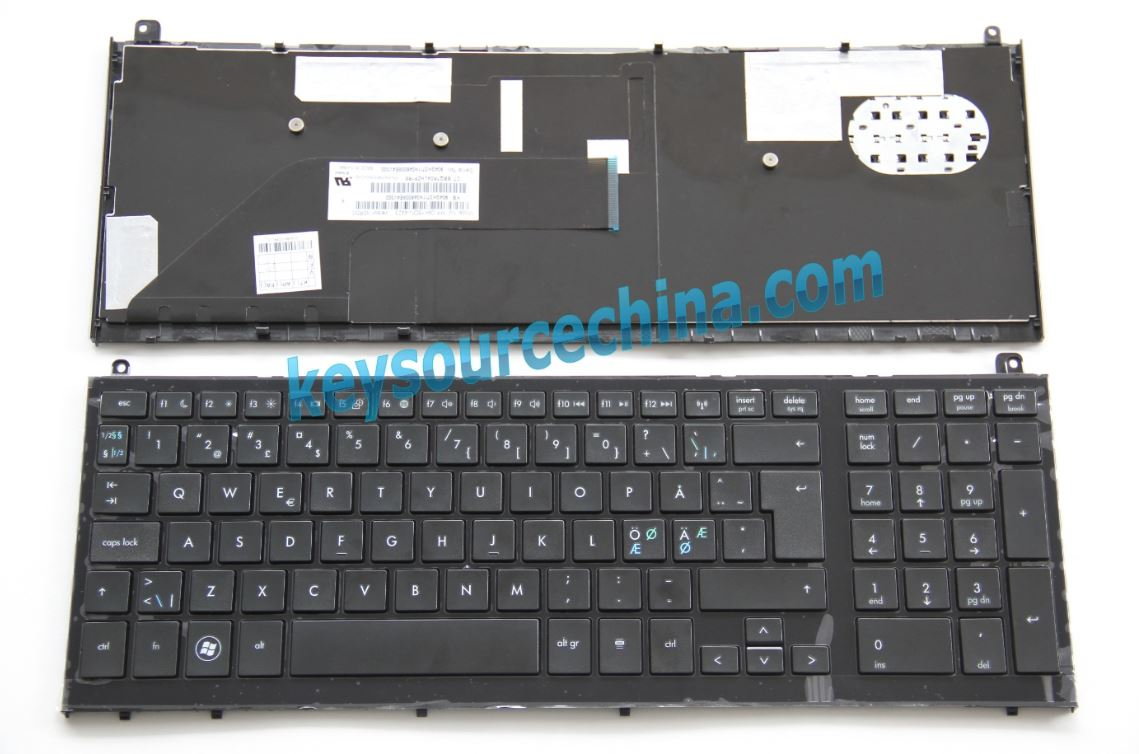 MP-09K16DN-4423 Original HP ProBook 4520s 4525s Nordic keyboard