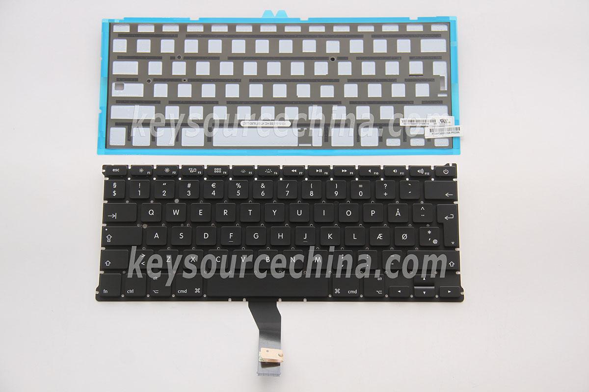 macbook air dansk tastatur
