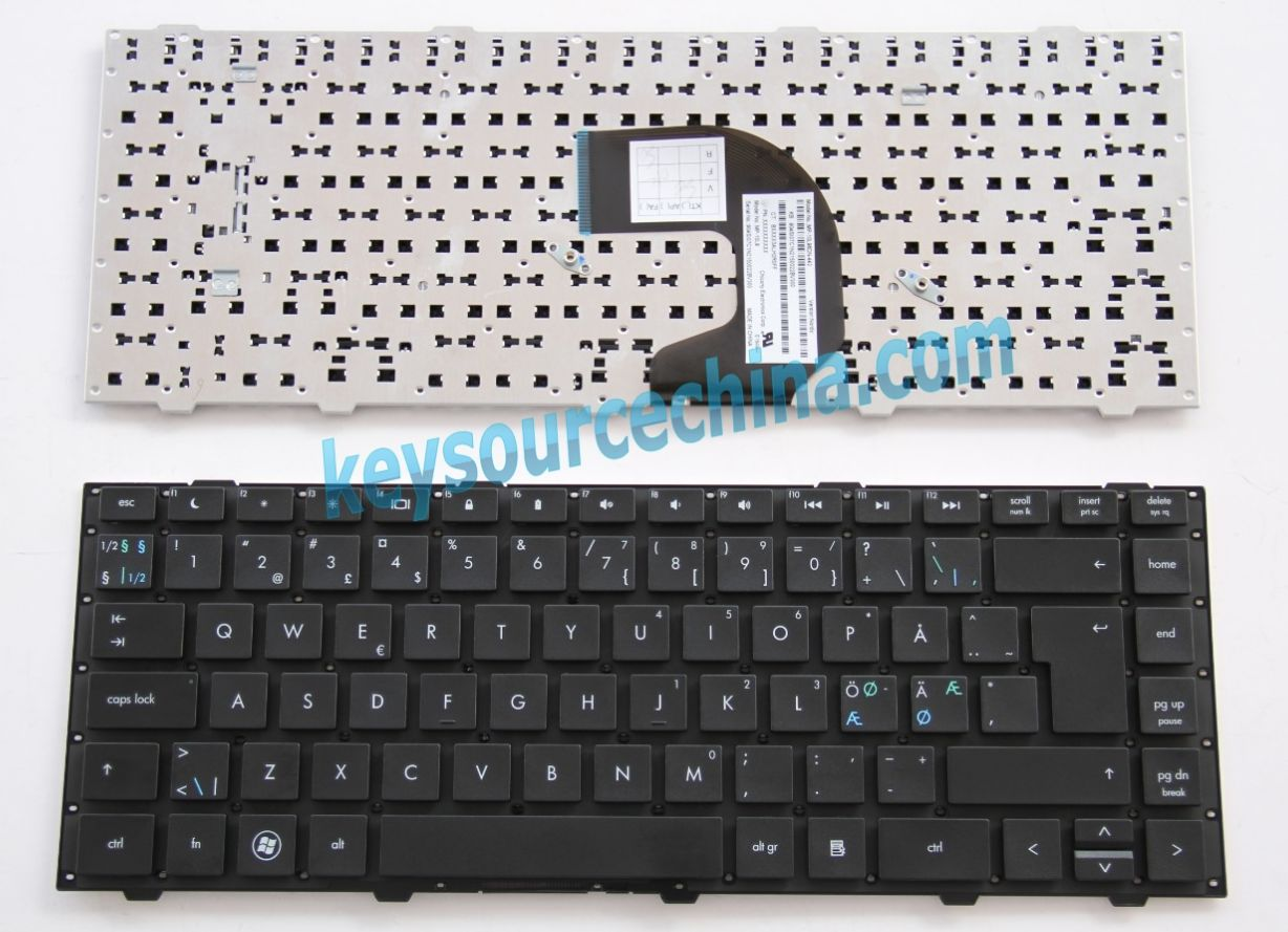 MP-10L96DN-442 Originalt HP Probook 4440s 4441s 4445S 4446s Nordic Keyboard