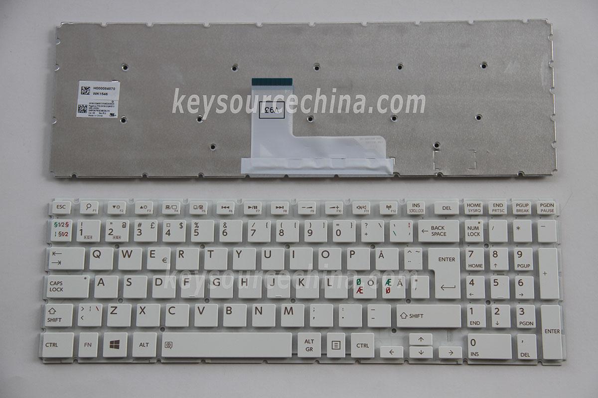 Toshiba Satellite C55-C C55T-C Black US Laptop Keyboard