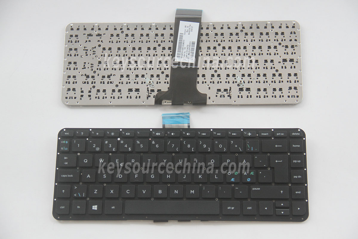SG-62230-79A Originalt HP Pavilion x360 13-a 13-a185no 13-a188no series Nordic Keyboard