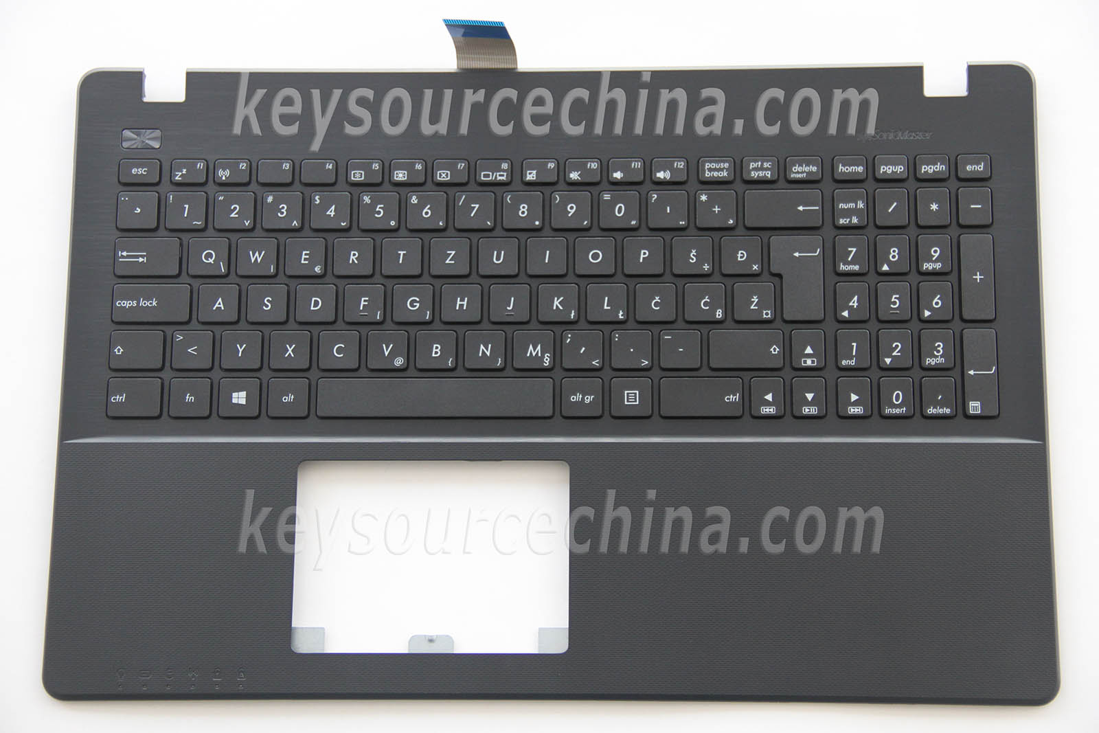 Asus F552CL F552EA F552EP F552JD F552JK F552JX Tipkovnica Slovenian Bosnian Croatian Serbian Laptop Keyboard Black Top case